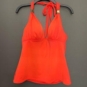 Victoria Secret Red Tankini Swim Suit Top